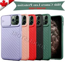 iPhone 11/11 Pro Max XR Case Cover with Camera Lens Slide Pr