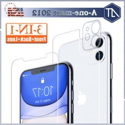 For iPhone 11 Pro Max Tempered Glass Screen Protector Camera