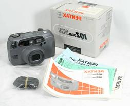 PENTAX IQZoom 160 Point and Shoot Camera. 35mm Film Japan NE