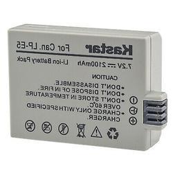 Kastar Battery for OEM Genuine Canon LP-E5 EOS Rebel T1i XS