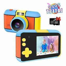 Kids Camera 2020 Latest Upgraded Digital Video Camera, Nycet