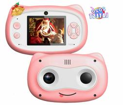 Kids Camera, 8 MP Digital Camera for Kids 3-10 Years Old, 10