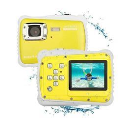 Kids Camera Easy Use Digital Underwater Resolution Camcorder