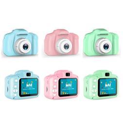 Kids Mini Digital Camera Children 1080P Cute Camcorder Video