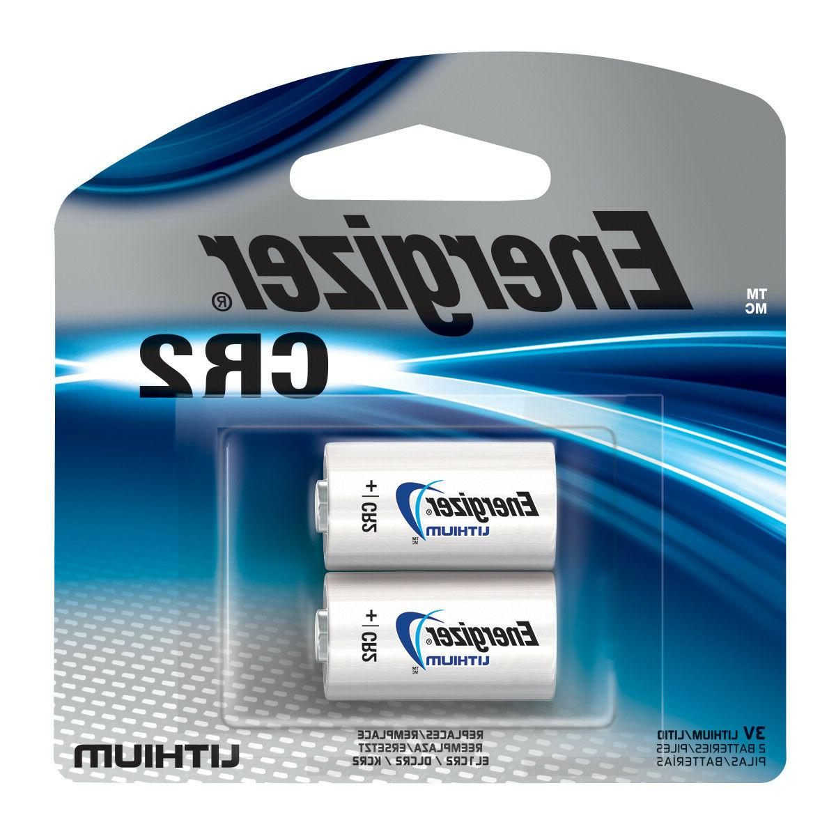 2-Pack / Juice Brand Rechargeable Photo Lithium CR2 Batterie