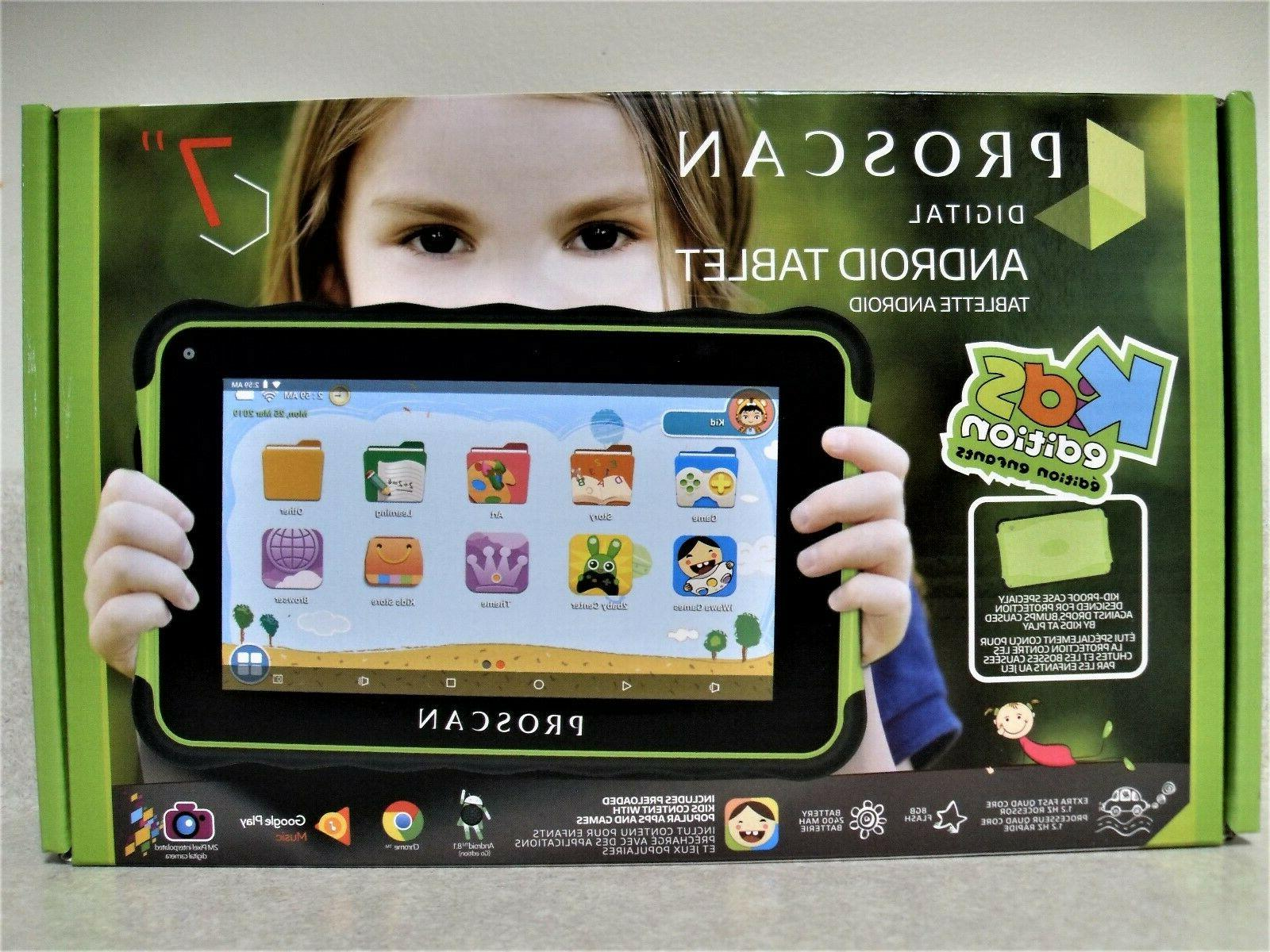 7 kids android 8 1 tablet wi
