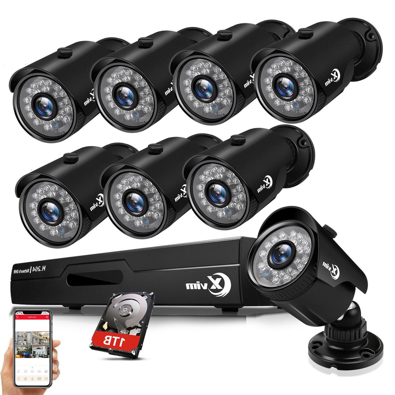 8ch 1080p hdmi dvr outdoor night vision