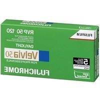 Fujifilm Fujichrome Velvia 50 Color Slide Film ISO 50, 120 s