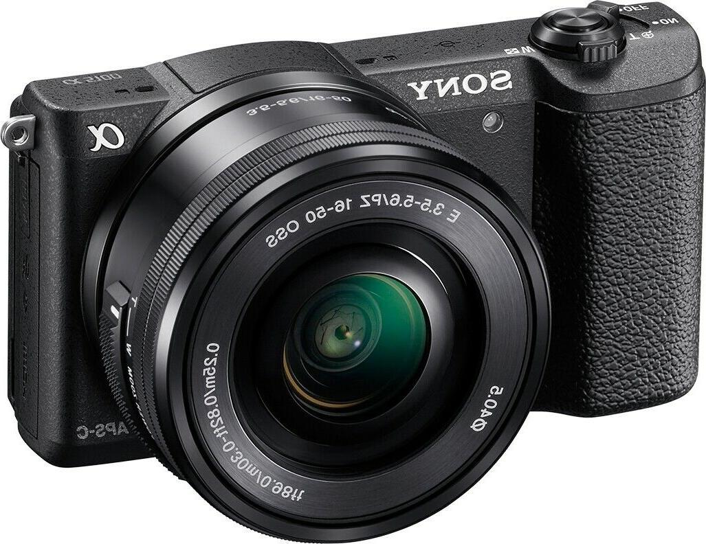 Sony Alpha Digital E PZ OSS Lens - Black