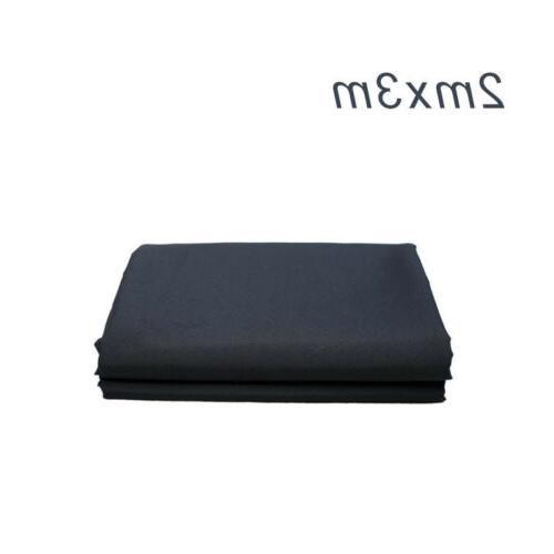 black non woven fabric 2x3m backdrop photography
