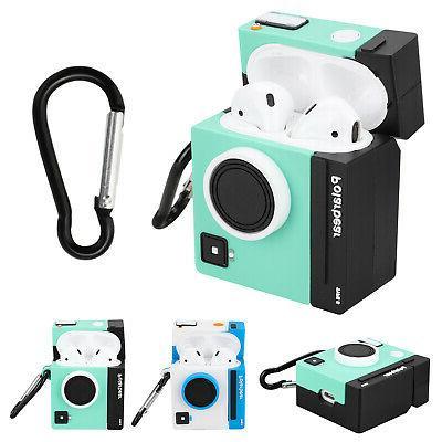 camera 3d cute silicone protective case cover