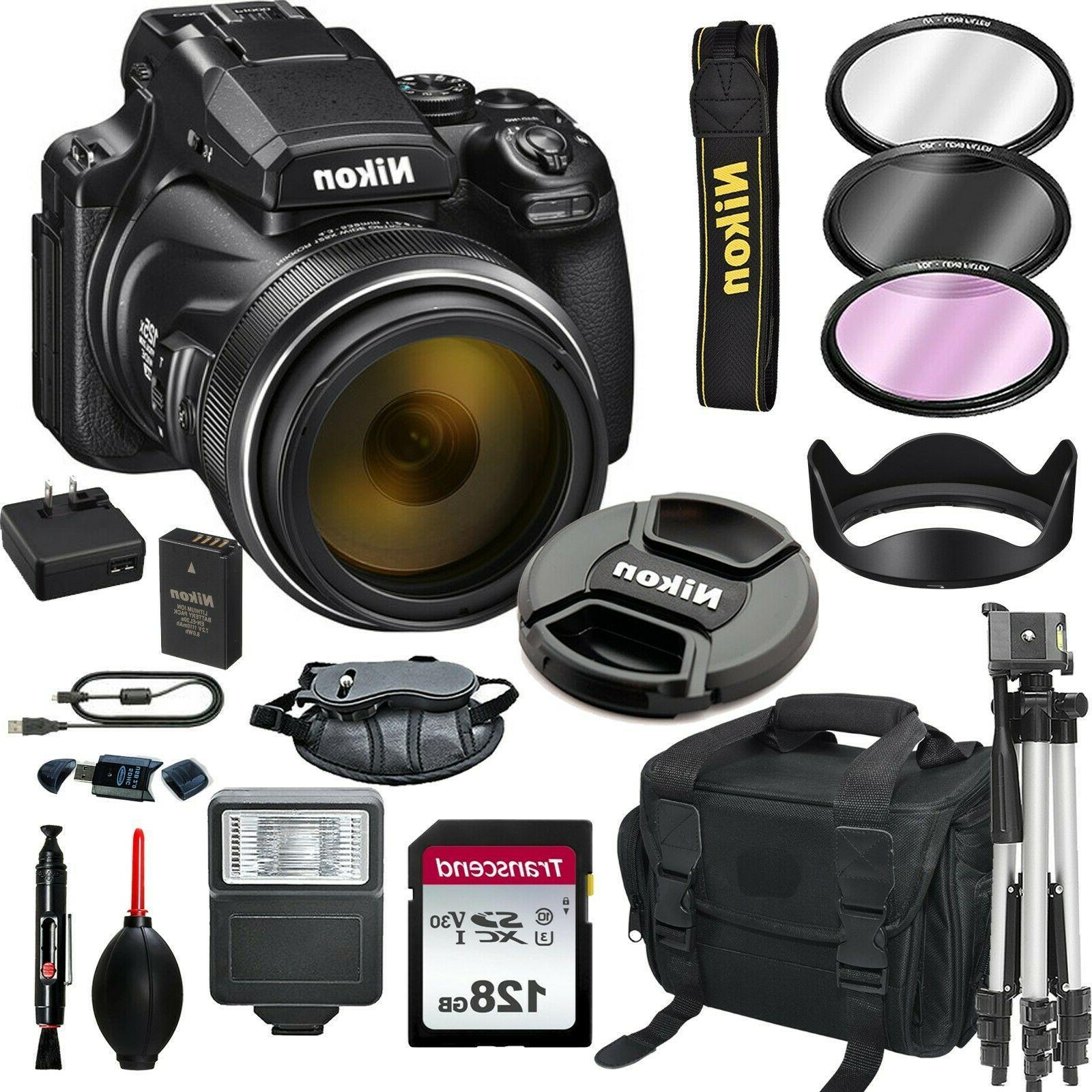 coolpix p1000 16mp 4k digital camera
