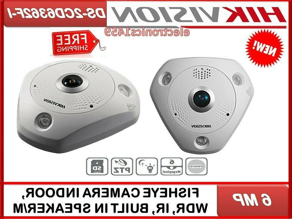 ds 2cd6362f i fisheye camera 6mp indoor