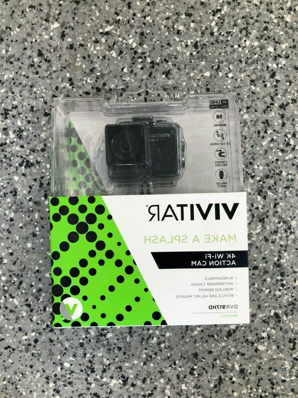 dvr917hd 4k action camera with remote black