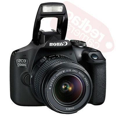 Canon Rebel + 3 18-55mm + Flash &