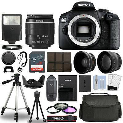 eos 2000d rebel t7 slr camera 3