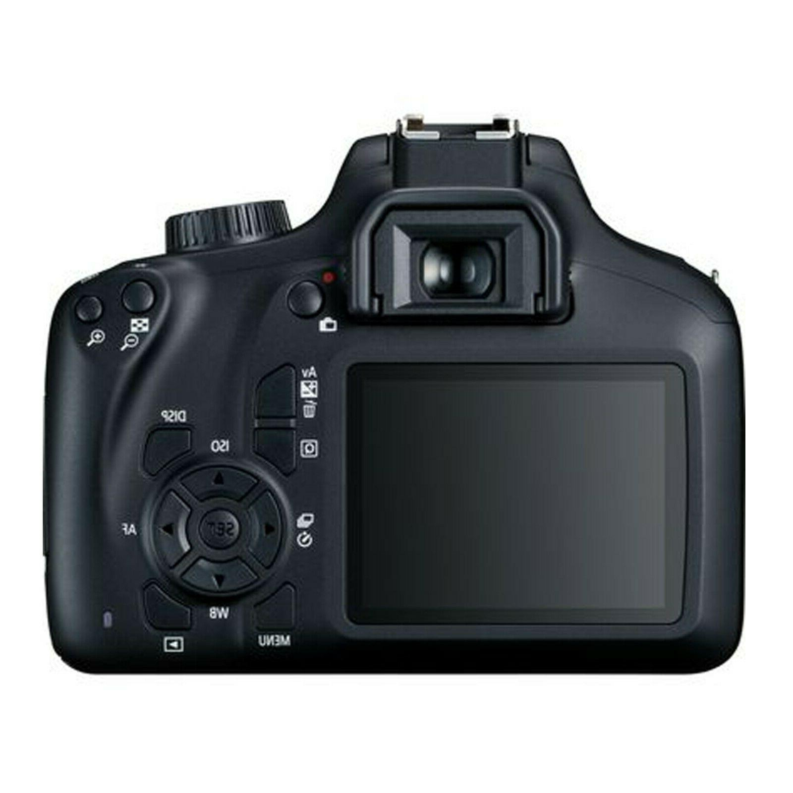 Canon 18.0MP DSLR Camera with