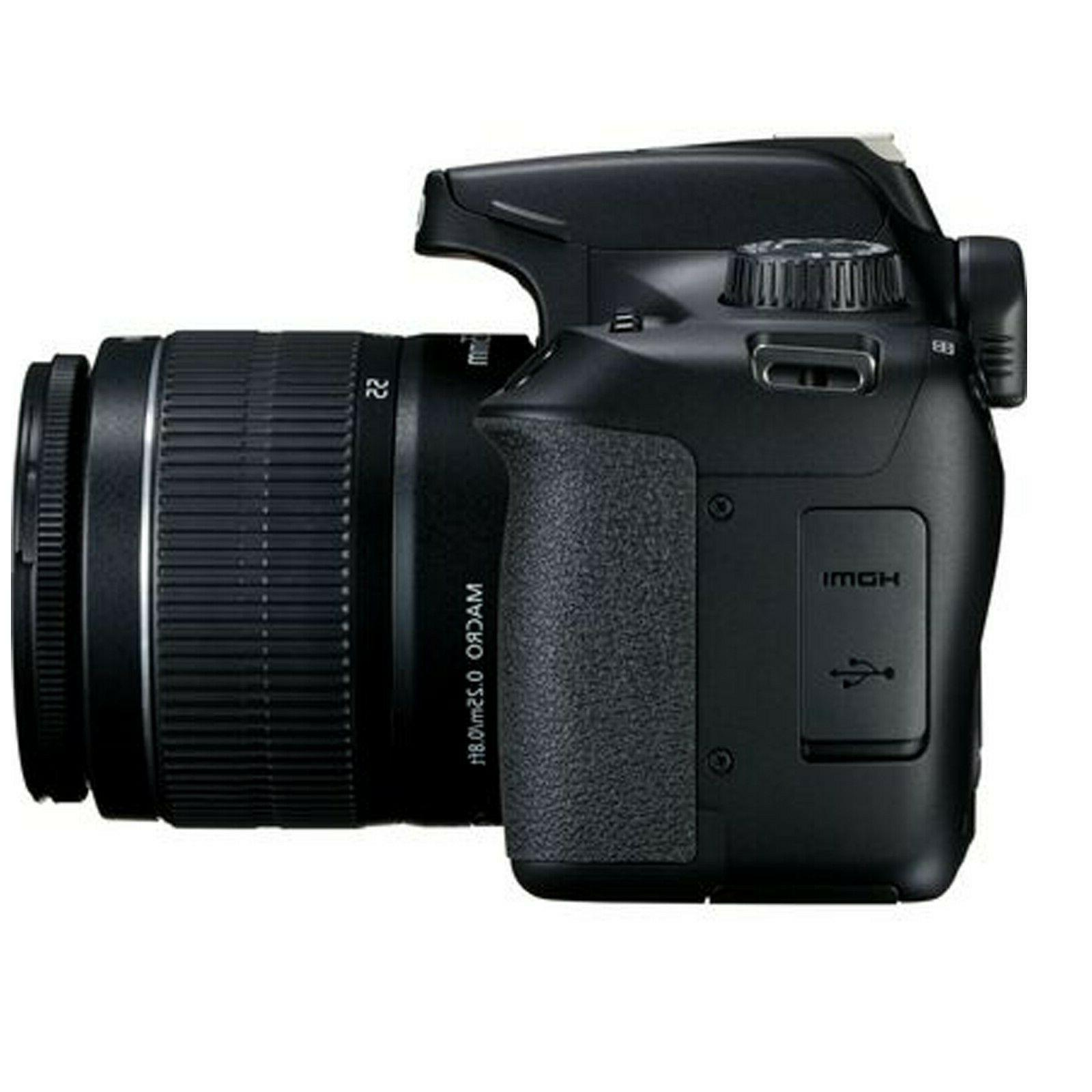 Canon T100 18.0MP DSLR with 18-55mm