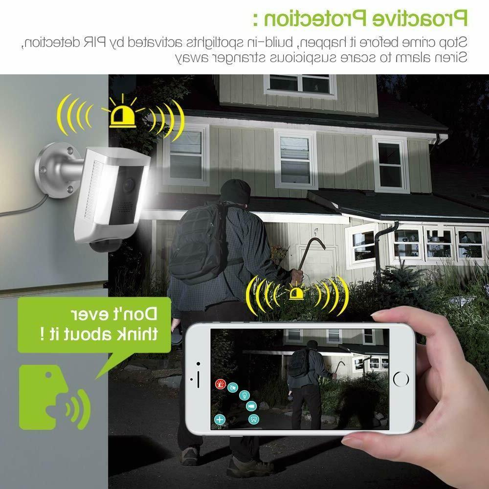 Floodlight Camera Two-WayTalk Suspicious
