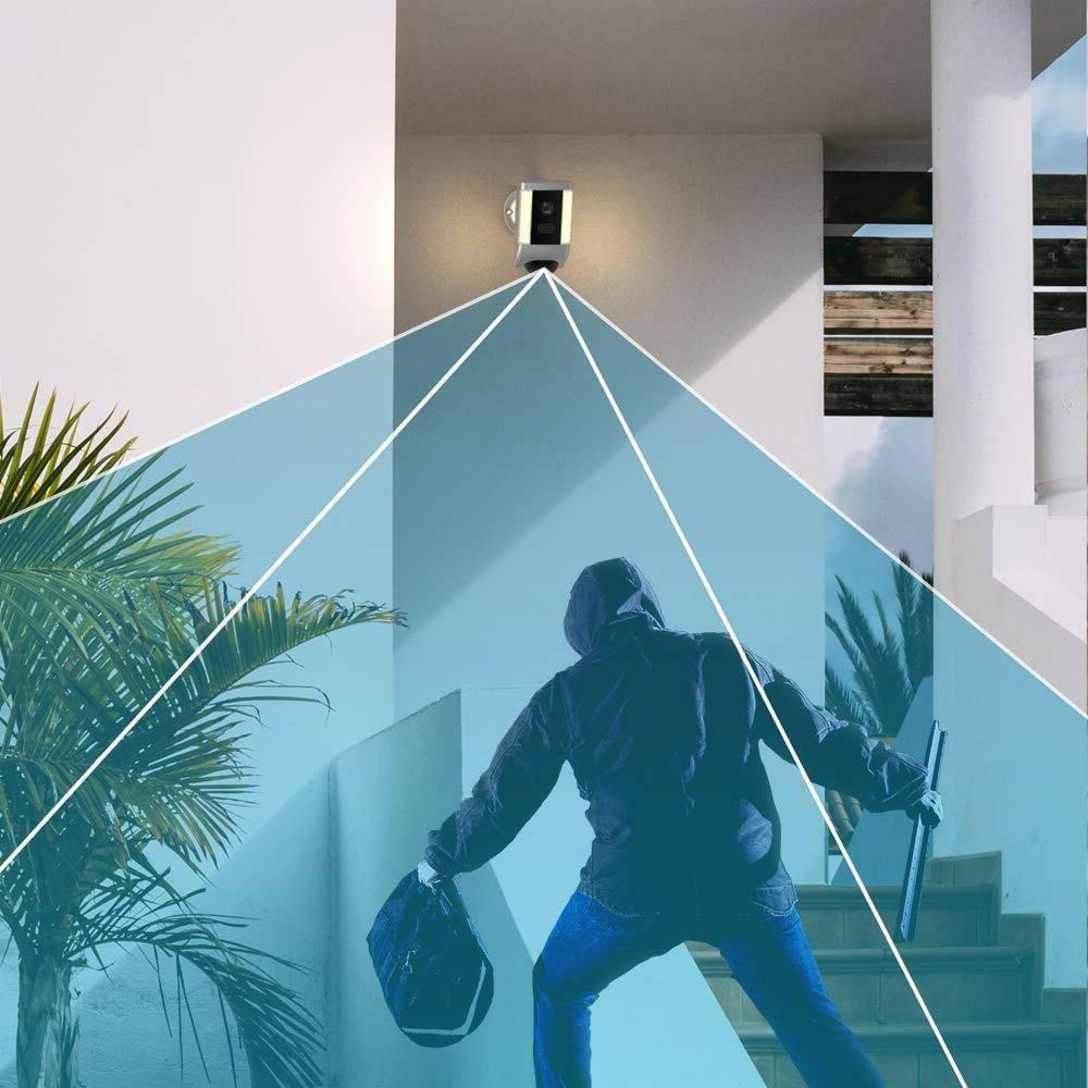 Floodlight IP Camera Two-WayTalk Intrusion Detection