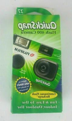 Fujifilm Quicksnap Flash 400 asa 35mm Single Use Disposable