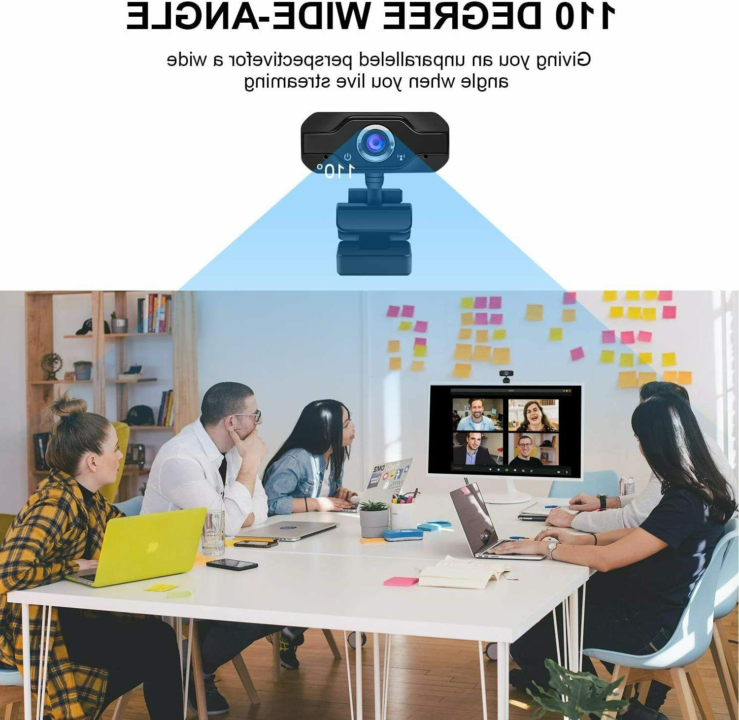 HD 1080P with Microphone Camera for PC/Mac