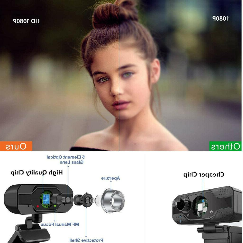 HD 1080P Microphone USB for PC/Mac