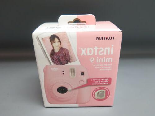 instax mini 9 instant film camera rose