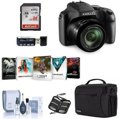 Panasonic Lumix DC-FZ80 Digital Camera With Free PC Accessor