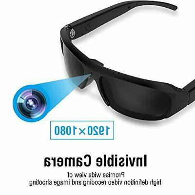 Mini Camera Glasses 1080p HD Sunglasses Audio and