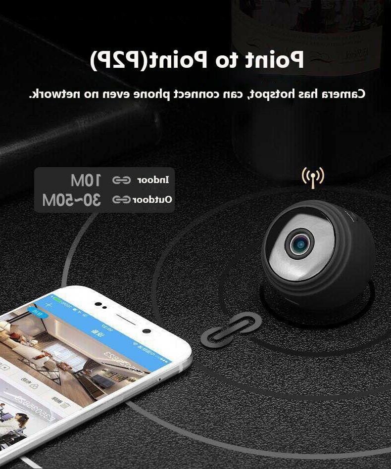 Mini Hidden Spy Wireless Wifi Home DVR