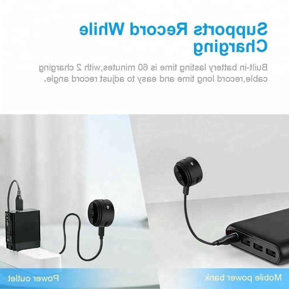 Mini Hidden Spy Wireless HD Home Security DVR