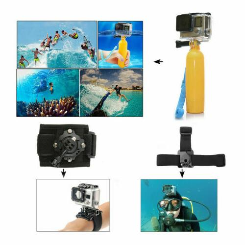 Monopod Mount Accessories Kit For Hero 8 5 Sports Camera