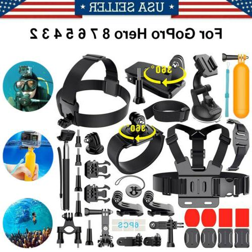 monopod mount accessories bundle kit for gopro