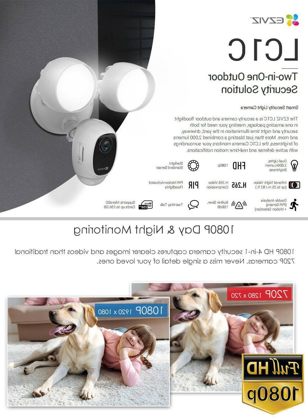 EZVIZ WIFI 1080P Night 2-Way LC1C