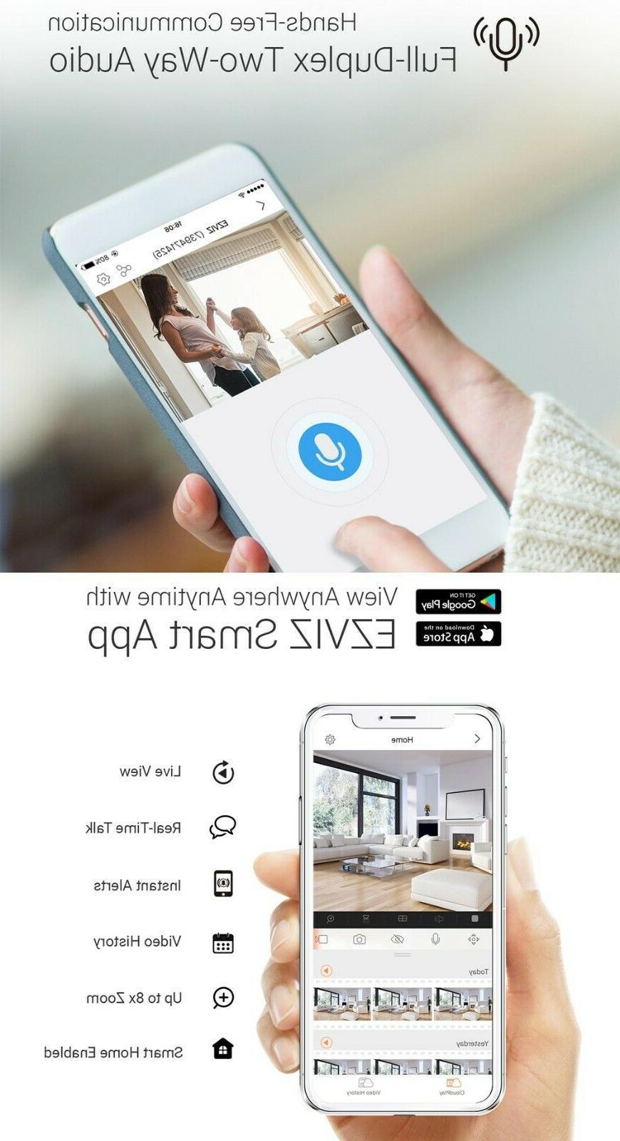 EZVIZ Outdoor WIFI APP Night Vision 2-Way Audio LC1C