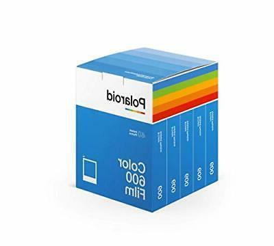 polaroid color 600 film 5 pack 40