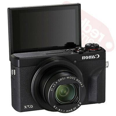 Canon G7 X Mark 4K Digital 4.2x Zoom Silver