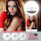 Selfie Light Ring LED - Flash Clip Camera - iPhone HTC Samsu