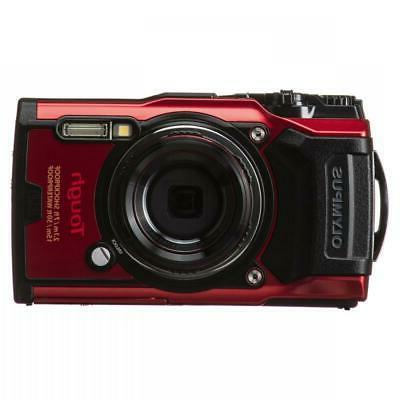 tough tg 6 digital camera red