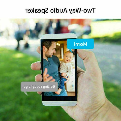 Wireless IP HD1080P Security Camera Night Cam