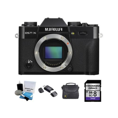 x t20 mirrorless digital camera black 8gb