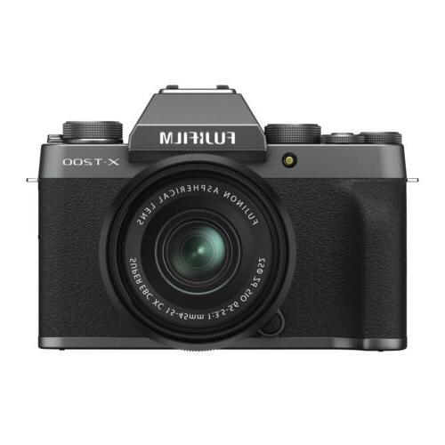 x t200 mirrorless camera with xc 15