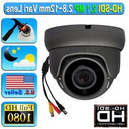 LEXA HD SDI 2.1MP SONY 1080P CCTV Camera Wide 2.8-12mm Dome