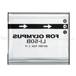 LI-50B LI50B Battery for Olympus Stylus, MJU, S, Tough, VR,