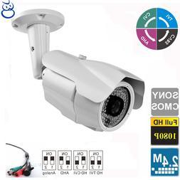 License Plate TVI Camera 2.4MP 1080P Long Range 5-50mm Lens
