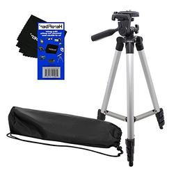"50"" Light Weight Aluminum Photo/Video Tripod & Carrying Case"