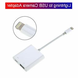 Lightning To USB Camera Adapter Durable For iPhone 11/XS/XR/