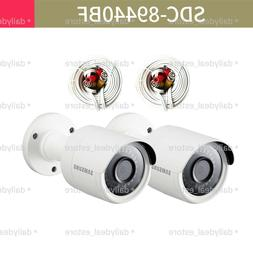 NEW SAMSUNG SDC-89440BF 4MP Super HD bullet camera