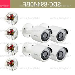 SAMSUNG SDC-89440BF 4MP Super HD bullet camera